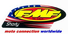 FMF SHORTY REPLACEMENT DECAL STICKER GENUINE FMF OFFICIAL EXHAUST GRAPHIC