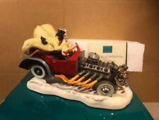 "WDCC 101 Dalmatians - Cruella DeVil ""De Vil on Wheels"" Signed - New in Box"