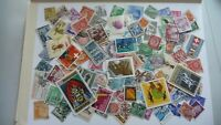 2171          lot 100 timbres seconds plusieurs pays
