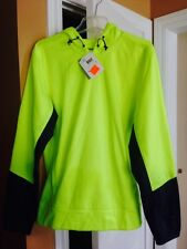 MENS REEBOK LIME GREEN RUNNING EXCERCISE SHIRT NEW W TAGS NWT SMALL S HOODIE