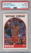 MICHAEL JORDAN 1989-90 HOOPS #200 PSA 10 GEM MINT **CHICAGO BULLS HOF**