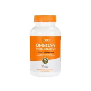SIBU Omega 7 Sea Buckthorn Oil, 120 Soft gels