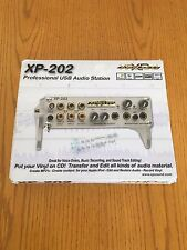 Xpsound Xp-202 Usb Pro Audio Interface Recording, Mixing, Record/Lp Conversion