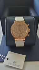 SWAROVSKI: Citra Sphere Chrono White Rose Gold Tone WristWatch: 5080602