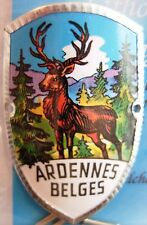 Ardennes Belges new badge mount stocknagel hiking medallion G9798