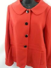 Victor Alfaro NEW Women's suit Coat blazer 12 Red Work WEAR Fully lined Career