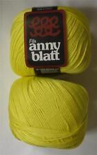 ANNY BLATT ASSOUAN MERCERIZED COTTON DK/LIGHT WORSTED YARN 1 BALL CITRON (31T)