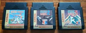 Original Nintendo NES Tengen R.B.I. RBI Baseball Trilogy 1 2 3 Tested *Ship Fast