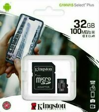 KINGSTON 32GB Micro SD SDHC Memory Card Class 10 Memory TF With SD Card Adapter
