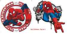 3d Spiderman wall stickers *2 for kids rooms mural poster boy's room decals *2
