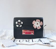 NWT Furla Julia  Mini Crossbody / Onyx