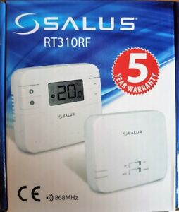 SALUS RT310RF DIGITAL WIRELESS CENTRAL HEATING ROOM THERMOSTAT
