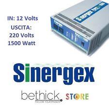 INVERTER SINERGEX PURESINE 1500 WATT 12V DC A 220V ONDA SINUSOIDALE BARCA