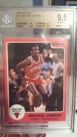 ~TRUE GEM HIGH-END ROOKIE 10 CENTERING BGS 9.5 MICHAEL JORDAN STAR 1985