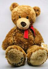 "Carter's teddy bear stuffed plush soft 2003 animal embroidery foot brown 18"" NWT"