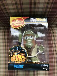 Star Wars Pop Taters  Mr. Potato Head Yoda Toy Action Figure Mint In Box