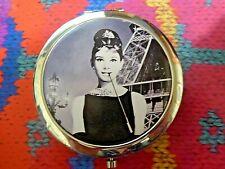 Audrey Hepburn Cosmetic Pocket Handbag Mirror