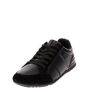LEFT SHOE ONLY RRP €150 VERSACE JEANS Sneaker EU 42 UK 8 US 9 Logo Lace Up
