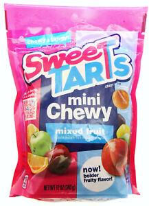 Sweetart Mini Chewy ~ American Candy ~ 12oz bag ~ Sweet Tarts Resealable Bag