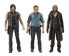"Walking Dead Allies Deluxe Box Set Rick Jesus Daryl 5"" Action Figures McFarlane"