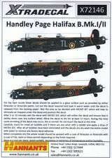 NEW 1:72 Xtradecal X72146 Handley-Page Halifax B.II / II Series 1A / 1A Special