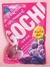 Meiji GOCHI GUMMY CANDY Grape Flavor VERY tasty JAPANESE candy Collagen 3900 mg