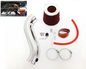 RED For 2005-2010 Chrysler 300 3.5 V6 Touring Limited Air Intake System + Filter