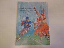 Upper Dublin vs Norristown High School Football Program 1968 Pennsylvania