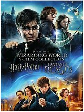 Wizarding World: 9 Movies Harry Potter 1-8 + Fantastic Beasts Boxed DVD Set NEW!