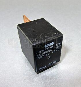 Genuine Isuzu Multi-Use Black Relay 8971807940 4-Pin NAiS Japan ACB82201