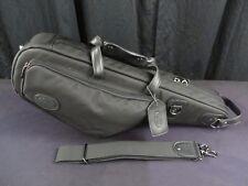 Reunion Blues Black Pro Alto Saxophone Shoulder Case, Ballistic Fabric