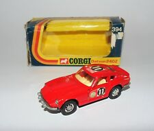 Vintage CORGI 394 DATSUN 240Z East African Safari Winner Whizzwheels Diecast Car