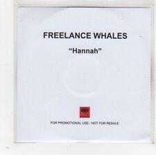 (FW83) Freelance Whales, Hannah - DJ CD