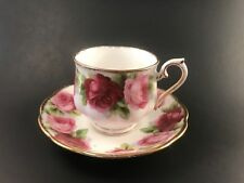 Royal Albert Old English Rose Cup And Saucer