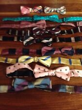 EUC - Large Lot - Boy's Brooks Brothers - Bow Ties - 100% Silk - 10 Piece