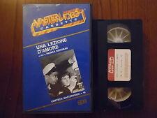 Una lezione d'amore (Eva Dahlbeck, Gunnar Björnstrand)  VHS ed. Mastervideo rara