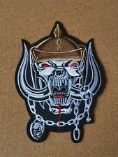 Motorhead 1916 Embroidered Patch Heavy Metal Lemmy Kilmister Bomber Motörhead