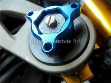 FORK PRE LOAD ADJUSTERS BLUE 22MM Aprilia RS250  RSV1000 Mille Tuono Falco  R1F8