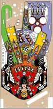 BALLY Elvira And The Party Monsters EATPM Pinball Machine Playfield Overlay