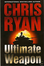 Ultimate Weapon by Chris Ryan 1st Ed Advance Proof!