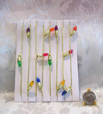 "FASHION DOLL SIZE MINIATURE CHRISTMAS TREE GARLAND 36"" NEW 1/6 SCALE"