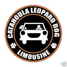 "Limousine Catahoula Leopard Dog 5"" Sticker"