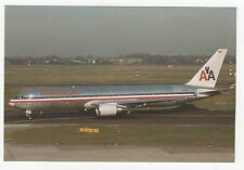 American Airlines Boeing 767 N360AA Aviation Postcard, A658