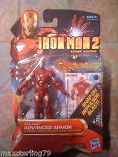 "Marvel Universe IRON MAN 2 ADVANCED ARMOR MARK VII 3.75"" Avengers Movie"