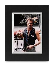 Tom Selleck Signed 10x8 Photo Magnum, P.I. Autograph Memorabilia Display COA