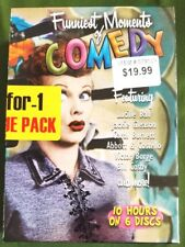 Funniest Moments of Comedy DVD ~ Lucille Ball, Carol Burnett, Abbott & Costello