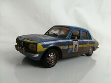 Polistil 1/26 PEUGEOT 504GL Vintage diecast replica classic Rally car Blue 1/24