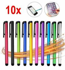 10 x Multi-Coloured Tablet, Smartphone, Note, iPad Touch Screen Stylus Pens