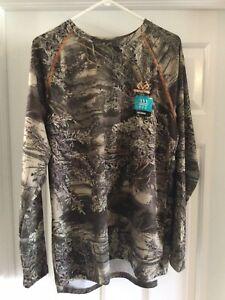 Men's Realtree Max-1 XT LS Wicking Shirt L Large - NWOT