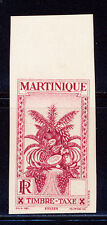 """MARTINIQUE POSTAGE DUE IMPERF DALLAY 21a """"SANS"""" WITHOUT VALUE 125 EUROS"""
